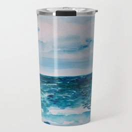 Cabo Beach Mexico Watercolor #1 Travel Mug