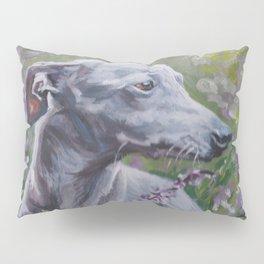 Italian Greyhound dog art from an original painting by L.A.Shepard Pillow Sham