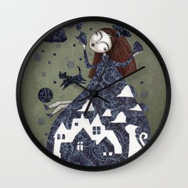 Clouds in May, Time to Play Wall Clock