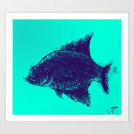 Fishing Time Art Print
