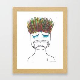 Philosophy of the Mind Framed Art Print