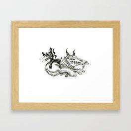 The Dogs 2 Framed Art Print