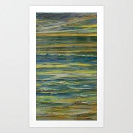 Bands of Color Art Print