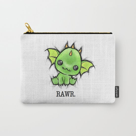 Baby Dragon Kawaii Carry-All Pouch