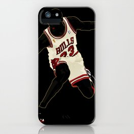 Jordan A Design Poster of Air Jordan 1's 23 iPhone Case