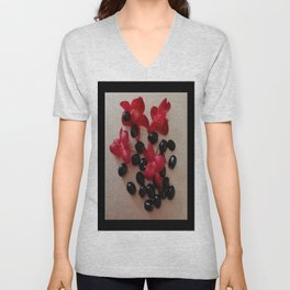 COUNTING SEEDS Unisex V-Neck