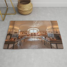 Antique kitchen for professional use Rug