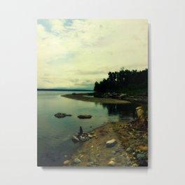 Sandy Point Metal Print