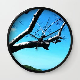 Mountain View 01 Wall Clock