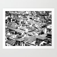 florence Art Prints featuring Florence by frankWAYNE