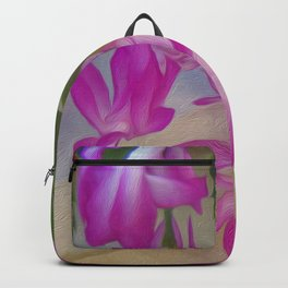 Pink catcus Backpack