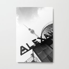 Berlin Alexanderplatz Station Metal Print