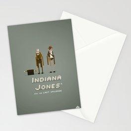 Pixel Art Indiana Jones Stationery Cards