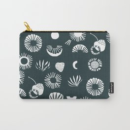 Seaflower mono Carry-All Pouch