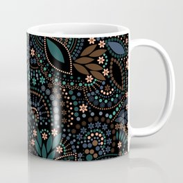 Scattering of beads . 2 Coffee Mug