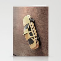 death cab for cutie Stationery Cards featuring cab by Vin Zzep