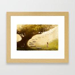 The Infinity Tree Framed Art Print