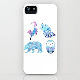 Northern Hemisphere Collection iPhone Case