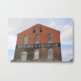 HISTORIC TREDEGAR Metal Print