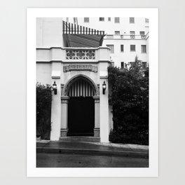 Chateau Marmont Art Print