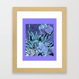 New Iris Framed Art Print