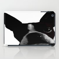 boston terrier iPad Cases featuring Boston Terrier by Noah Cheek