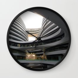 Zaha H A D I D | architect | Galaxy Soho, Beijing Wall Clock
