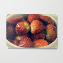 Strawberry fields forever.... Metal Print