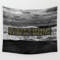 grace Wall Tapestries featuring Grace by Efty