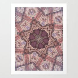 Hearts (from the Bom Jesus Church in Old Goa) Art Print