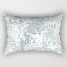 Country Blue and White Rectangular Pillow