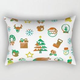 Christmas Theme Rectangular Pillow