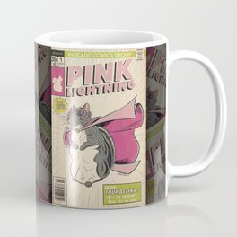 Little Thumbelina Girl: Pink Lightning Coffee Mug