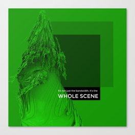 WHOLE SCENE Canvas Print