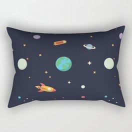 Tiny Space Rectangular Pillow