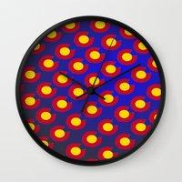 colorado Wall Clocks featuring Colorado by JacksonBear