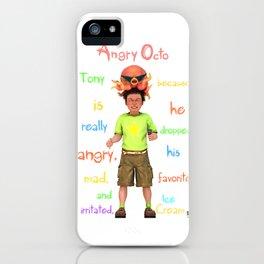 Angryocto - Tony's IceCream iPhone Case