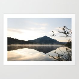 Crested Butte Reflection at Sunrise Art Print