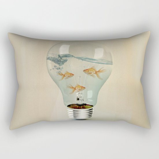 IDEAS AND GOLDFISH 03 Rectangular Pillow