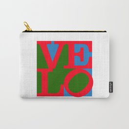 Velo Love – Logo – June 12th – 200th Birthday of the Bicycle Carry-All Pouch