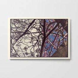 Woodblock II- Vitus Metal Print