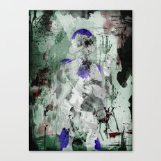Lord Frieza - Digital Watercolor Painting Canvas Print