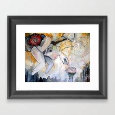 Conscious Cluster Framed Art Print