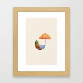 Don't Blow it. Good Planets Are Hard to Find. Framed Art Print