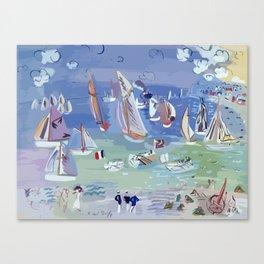 Regatta by Raoul Dufy Canvas Print