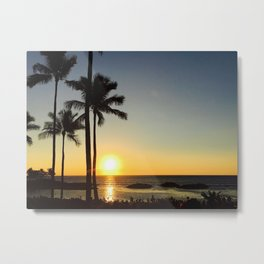 Hawaii sunset 2.0 Metal Print