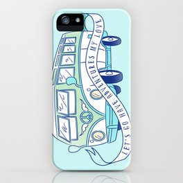 Let's Go Have Adventures My Love iPhone Case