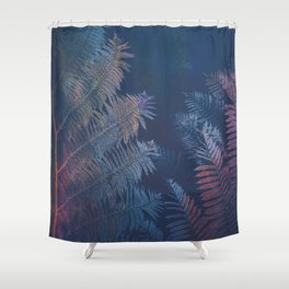 Abstract Fern Shower Curtain