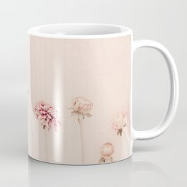 Cameo pink - Pastel Dahlia Flower photography by Ingrid Beddoes Coffee Mug