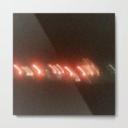 Abstracte Light Art in the Dark 22 Metal Print